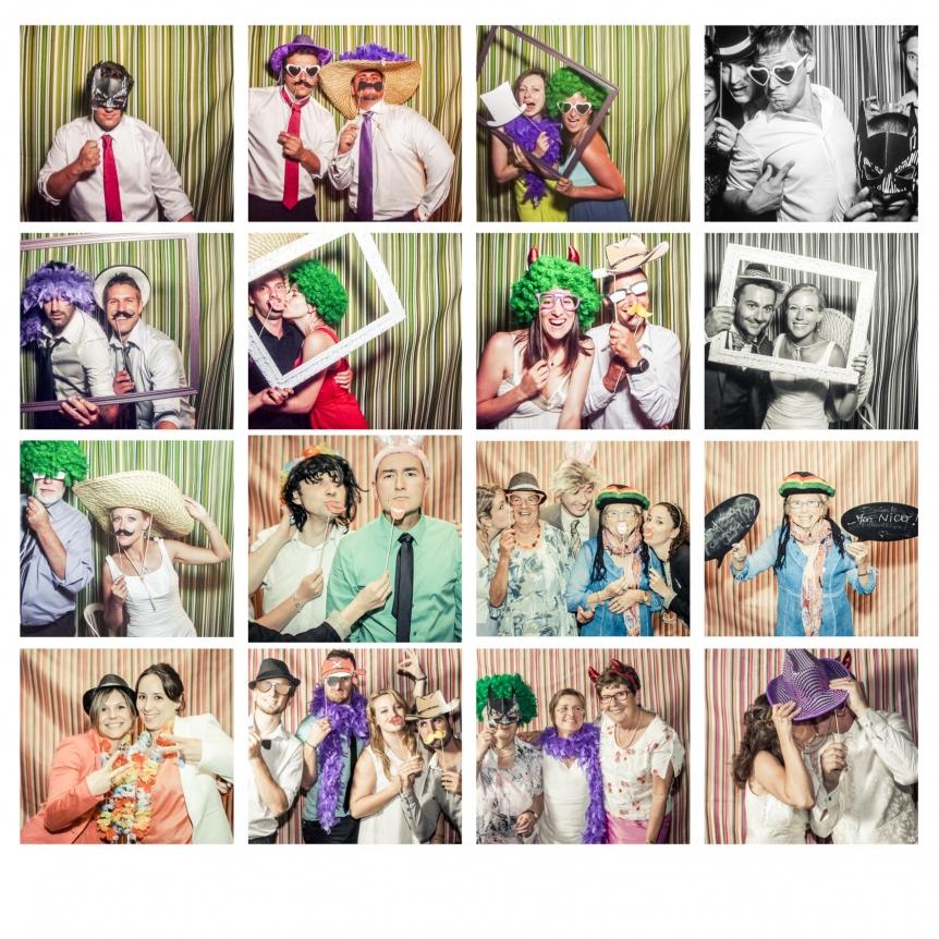 photographe mariage grenoble -lyon -annecy - photobooth mariage